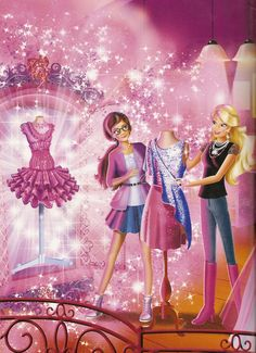 Barbie Cartoon | Barbie a Fashion Fairytale Movie
