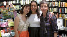 Angelina Lopez, Marina Hirsh e Karla de Souza