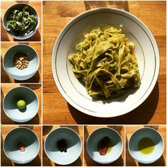 Top on #Taste: #Kale and #cashew #pesto, with #lime, #garlic, #olives, #anchovies and #extravirginoliveoil. Added to #fresh #multigrainpasta. #awesome #carbloading #domesticdude #eatright #eatyourgreens #food #food4gods #foodie #foodporn #musclefood #nutrition #pasta #tagliatele