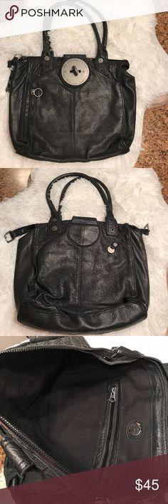 Pre-owned - Black Leather Handbag Diesel EumKl9hJeY