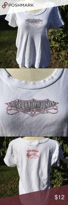 Harley Davidson Shirt Alaska Size 2XL Size 2XL. Gently preowned Harley-Davidson Tops Tees - Short Sleeve