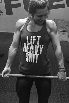 I like the shirt - not my goal to be this intense though :)