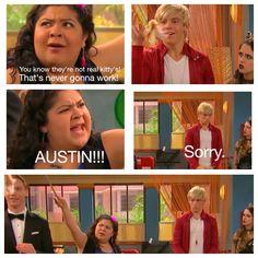 This just proves that Austin & Dez were meant to be best friends. Funny Disney, Disney Facts, Disney Memes, Disney Fun, Funny Memes, Hilarious, Jokes, Austin Moon, Disney Ships