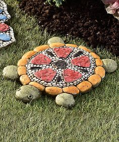 Love this Mosaic Turtle Stepping Stone by Giftcraft on #zulily! #zulilyfinds