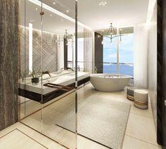Swiss Bureau Interior Design - Swiss Villa, Geneva
