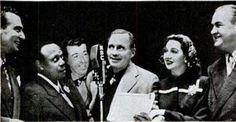 1946 - cast of the Jack Benny radio show
