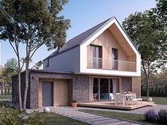 Malutki 2 projekt domu - Jesteśmy AUTOREM - DOMY w Stylu