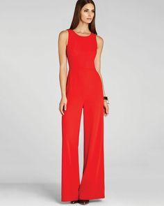 Divine Red Jumpsuit | tenuestyle
