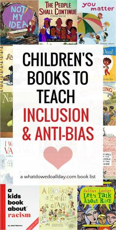 Best children's picture books to teach inclusion and foster an anti-bias attidude. These books share the joy and value of living in diverse communities. Teaching Phonics, Teaching Kids, Teaching Reading, Read Aloud Books, Good Books, Best Children Books, Childrens Books, Preschool Books, Preschool Literacy