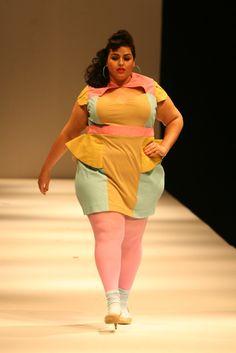 Dress: Melissa Lawson  Model: Andreina Ortega  Hair & Make up: Doe Darling  Photo: Richard Bertone