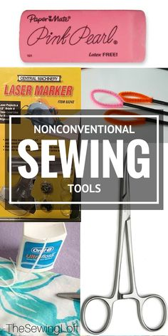 Holy COW, I never would have thought to use these nonconventional tools when sewing but WOW, I think they can really be helpful.