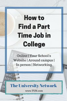 College students are notorious for being broke. Luckily, there are many ways and avenues in which to search for a job while in college.