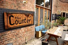 Exterior of beautiful The Counter Cafe and restaurant in #Hackney #London click through for our full #review #foodbloggers
