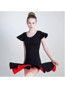 Shop Women's Black Latin Dance Skirt at OKmarket.com