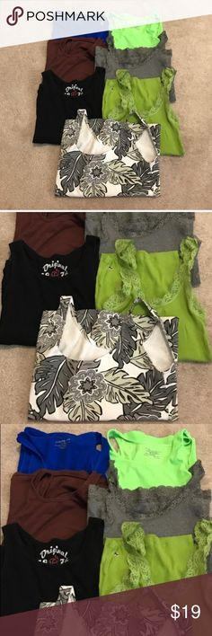 Tank top bundle size M: Gianni Bini, Hollister Tank top bundle size M: Gianni Bini, Hollister, Gap. bin 15 GAP Tops Tank Tops
