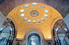 Rafael Guastavino Helped Make NYC Beautiful. The Elephant House at the Bronx Zoo. Bronx Zoo, Herringbone Tile, Vaulting, New York City, Elephant, Nyc, Architectural Firm, Museum Architecture, Roman Architecture