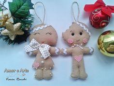 Amor e Arte: Gingerbread em Feltro