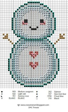 Snowman, found on : http://www.crossmenot.blogspot.nl/search?updated-max=2012-11-25T16:31:00%2B01:00=7=7=false