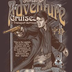 """""""Mal's Adventure Cruises"""" by cs3ink is available today & tomorrow for $11 on #TeeFury!"""