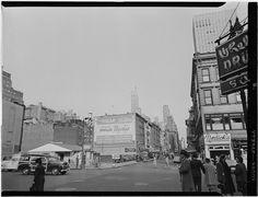 William Gottlieb - 52nd Street, New York, N.Y. (c1948)