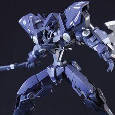 Custom Build: HG 1/144 EB-AX2 Graze Ein - Gundam Kits Collection News and Reviews Custom Gundam, Gunpla Custom, Robot Concept Art, Robot Art, Blood Orphans, Gundam Toys, Frame Arms, Mecha Anime, Super Robot