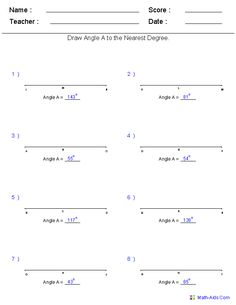 Worksheets Drawing Angles Worksheet draw this drawing angles with a protractor look at tables to measurement worksheets