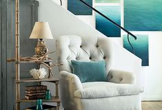 beach inspired decor | ... nature s hues let the colors you d see on a trip to the beach be the