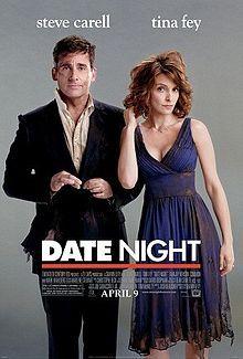 Date Night ★★★★ スティーブ・カレルには、こんな作品が一番いい!ティナ・フェイとの相性もGOOD.