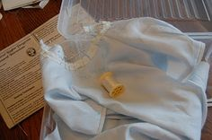 The Old Fashioned Baby Sewing Room: Daygown Sew Along - Lesson Four