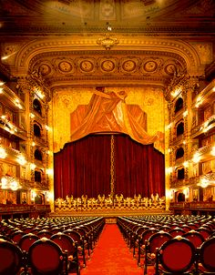Buenos Aires' premier opera houses, the Teatro Colon, second largest theatre in the southern hemisphere.
