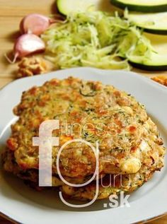 Baked zucchini pancakes without flour. Scd Recipes, Gluten Free Recipes, Low Carb Recipes, Dessert Recipes, Cooking Recipes, Healthy Recipes, Gaps Diet, Paleo, Food And Drink