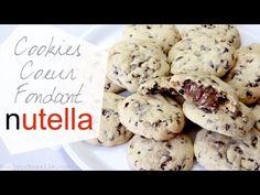 Comment faire des Cookies Coeur Fondant Nutella ? Recette Facile - YouTube