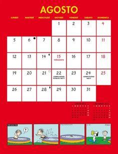 Calendario Pentaus - Agosto 2013