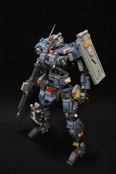 Lego Robot, Robots, Lego Mechs, Gundam Model, Legos, Instagram, Lego Stuff, Design, Bricks