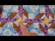 How to Make a Quilt - Road to Jerusalem Quilt Pattern Video