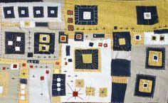 urbandon:  Fabric wall hanging