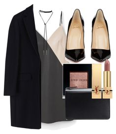 """Untitled #4496"" by olivia-mr ❤ liked on Polyvore featuring MANGO, Bølo, MSGM, Christian Louboutin, Bobbi Brown Cosmetics, Maison Margiela and Yves Saint Laurent"