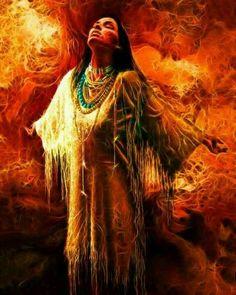"pinterest.com576 x 720 · jpegNative American Indian Women Art  Patricia White Buffalo's Walking the Shaman's Path"" Fire Starters ... The White Buffalo Calf Woman, in Lakota mythology, is a sacred woman of supernatural origin who gave the Lakota their ""Seven Sacred Rituals"".pinterest.com"