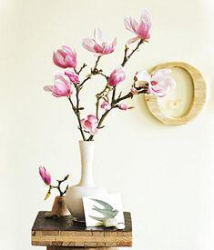 Frühlingszweige als Deko für die Vase - Tipps und Ideen - [LIVING AT HOME]