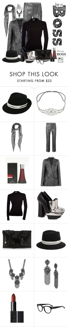 """""""Boss"""" by christy-leigh-official ❤ liked on Polyvore featuring Lanvin, Say Yes to the Prom, Yves Saint Laurent, Isabel Marant, HUGO, Alexander McQueen, Marchesa and BOSS Hugo Boss"""