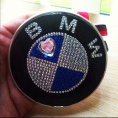 BMW bling emblem