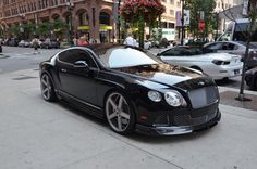 Bentley Continental GT..Love! I watch way to much Top Gear!!! Addicted to expensive cars .lol