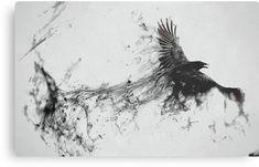 Drawn Crow ink splatter 10 - 1920 X 1200 Tattoos Motive, Muster Tattoos, Body Art Tattoos, Crow Tattoos, Tatoos, Phoenix Tattoos, Ear Tattoos, Crow Art, Bird Art