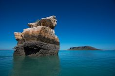 In the background is Steep Head Island in the Admiralty Gulf one of the wonders of West Australia from the 1980's TV documentary