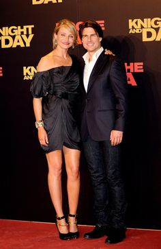 Cameron Diaz Photo - Tom Cruise and Cameron Diaz Attend 'Knight and Day' Premiere in Seville