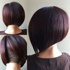 Modern Aline Bob With Secret Undercut Hair By @grandstyle9 #UCFeed #BuzzCutFeed…
