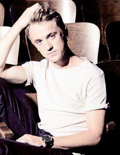 Tom Felton. Just amazing how pretty he is now...