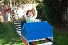 Backyard Roller Coaster. Umm thank goodness my husband could actually build this... it's happening!