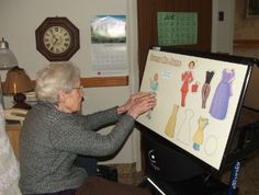 Our Magnetic Boards offer something different for seniors. A grown up activity that practices fine motor skills while having fun reminiscing about fashions of yesteryear.