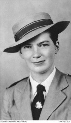 "Sister Dorothy Elmes, 2/10 Australian Field Hospital .One of the ""Vyner Brooke"" Nurses and a victim of the Banka Island massacre 16/2/42"